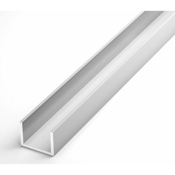 Швеллер алюминиевый АД31Т1 анод декоративный 20х20х20х1